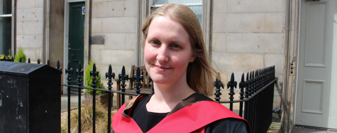 Dr Silke Currie - congratulations!