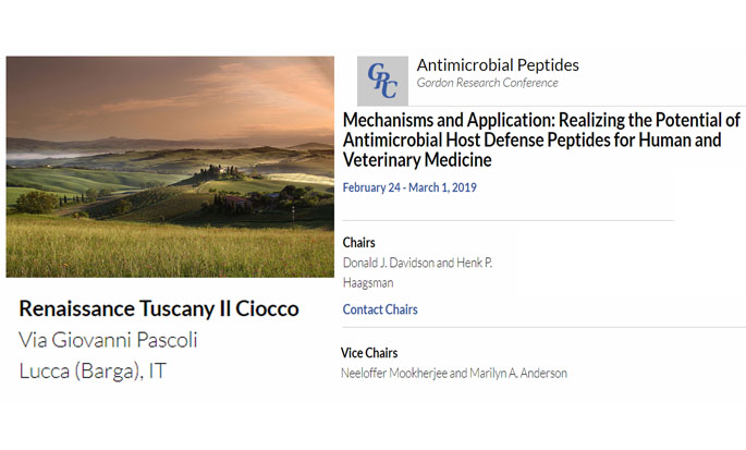 Excellent GRC on Antimicrobial Peptides 2019