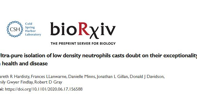 Low density neutrophils preprint out